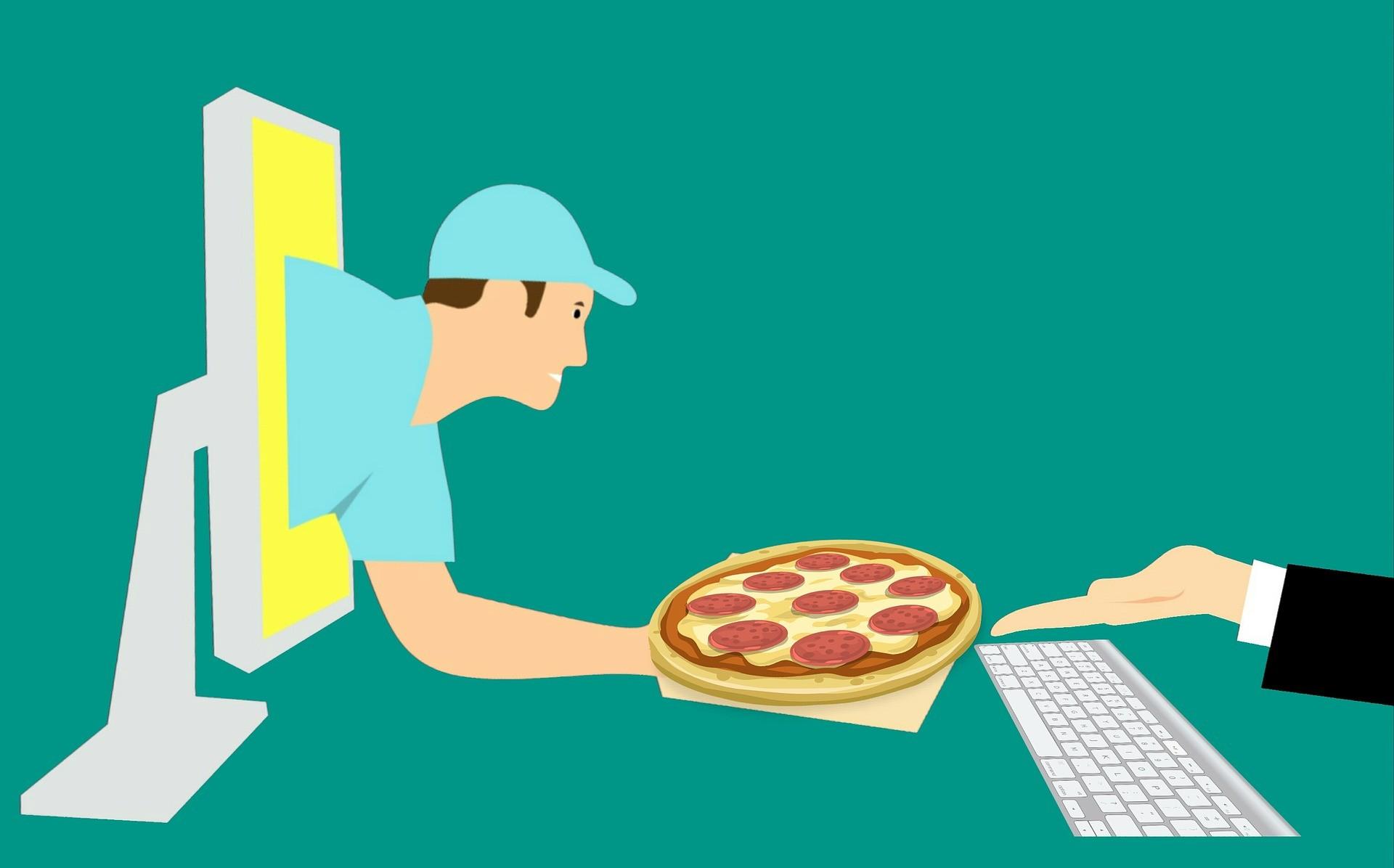 gestire l'e-commerce di un ristorante