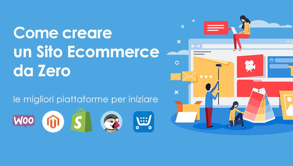 Sito e commerce già pronto