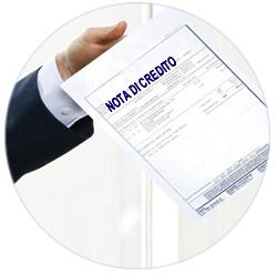 nota di credito elettronica