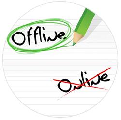 modalità offline